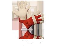 Leder Schutzhandschuhe