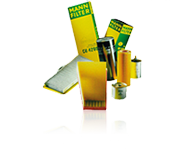 Luftfilter, Kraftstoff- & Ölfilter