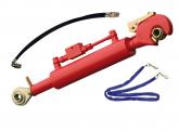 Hydraulischer Oberlenker 2/2 mit Fanghaken und Spindel 640+50/210mm (5,6/3,6 To)