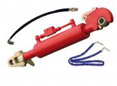 Hydraulischer Oberlenker 3/3 mit Fanghaken und Gabel 740+30/210mm (9,0/6,8 To)