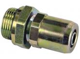 WIRA Einschraubsteckverbinder gerade Rohrgröße 10x1 Gewinde M16x1,5