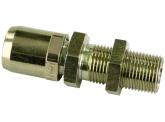 WIRA Gerade Schottsteckverbinder Rohrgröße 15x1,5 Schneidringverschraubung L15 Gewinde M22x1,5