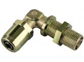 WIRA Winkel Schottsteckverbinder Rohrgröße 15x1,5 Schneidringverschraubung L15 Gewinde M22x1,5