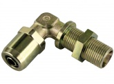 WIRA Winkel Schottsteckverbinder Rohrgröße 10x1 Schneidringverschraubung L10 Gewinde M16x1,5