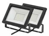 2x AdLuminis SMD LED Fluter normal 30W 2.450 Lumen