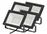 4x AdLuminis SMD LED Fluter normal 30W 2.450 Lumen