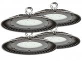 4x Cloche LED UFO high bay 60W 6.000lm suspension industrielle AdLuminis