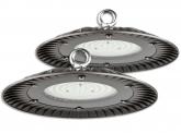 2x Cloche LED UFO high bay 100W 10.000lm suspension industrielle AdLuminis