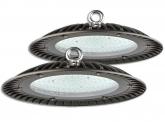 2x Cloche LED UFO high bay 150W 15.000lm suspension industrielle AdLuminis