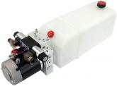 POWER-PACK (M-P-T) 24V/3KW/3,2ccm  12L-Tank - 1 x doppeltwirkend