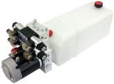 POWER-PACK (M-P-T) 12V/2KW/2,6ccm  8L-Tank - 2 x doppeltwirkend