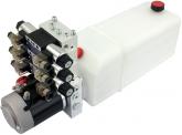 POWER-PACK (M-P-T) 12V/3KW/2,6ccm  5L-Tank - 3 x doppeltwirkend
