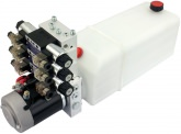POWER-PACK (M-P-T) 24V/3KW/3,2ccm  5L-Tank - 3 x doppeltwirkend