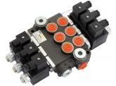 FKS-HYDRO  dreifach Z50-3 12VDC-G Elektromag. Steuergerät