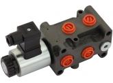 FKS-HYDRO DVS-6/2 elektr.magnet. Umschaltventil 3/8'' - 24V