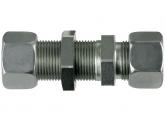 Gerade Schottverschraubung S30-M42x2 mit M+S