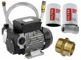 Blurea Dieselpumpen Set mit 3m Saugschlauch & Dieselfilter