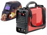 Inverter Schweißgerät mit Automatik Schweißhelm Fireball