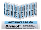 12x Eurokartusche 400g DIVINOL LITHOGREASE 2B Komplex-SF KP2N-30