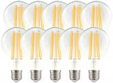 10x AdLuminis LED Bulb E27 klar 11W 1521 Lumen warmweiß