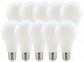 10x AdLuminis LED Bulb E27 matt 11W 1521 Lumen tagweiß