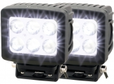 2x Phare de travail LED Spot 4.800 Lumens 60 Watts 10° 10-30 Volts AdLuminis