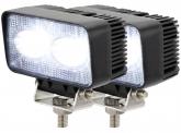 2x AdLuminis LED Arbeitsscheinwerfer T1020 20 Watt 1.800 Lumen