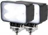 2x AdLuminis LED Arbeitsscheinwerfer T1050 50W 120° 4.000 Lumen