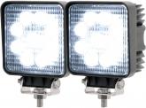 2x AdLuminis LED Arbeitsscheinwerfer T1027S 10-30V 60° 1.620 Lumen