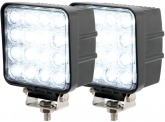 2x Phare de travail LED 2.880 Lumens 48 Watts 30° 10-30 Volts AdLuminis