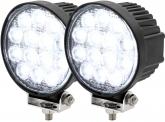 2x AdLuminis LED Arbeitsscheinwerfer T1042 42W 60° 2.520 Lumen