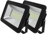 2x AdLuminis SMD LED Fluter flach 150W Tagweiß 10.700 Lumen