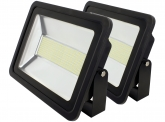 2x AdLuminis SMD LED Fluter flach 200W Tagweiß 14.300 Lumen