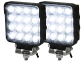 2x AdLuminis LED Arbeitsscheinwerfer T5148 25W OSRAM LED IP69K