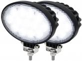 2x Adluminis LED Arbeitsscheinwerfer T3039 39W 60° 3.120 Lumen