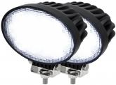 2x AdLuminis LED Arbeitsscheinwerfer T3265 65W 60° 5.200 Lumen