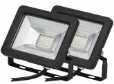 2x AdLuminis SMD LED Fluter normal 10W 850 Lumen