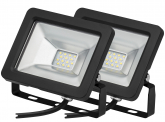 2x Projecteur LED plat 10 Watts 850 Lumens AdLuminis