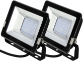 2x AdLuminis SMD LED Fluter normal 20W 1.700 Lumen