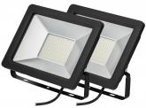 2x AdLuminis SMD LED Fluter normal 50W 3.900 Lumen
