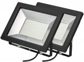 2x AdLuminis SMD LED Fluter normal 100W 7.500 Lumen