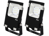 2x AdLuminis SMD LED Fluter PCCooler 10W 1.200 Lumen