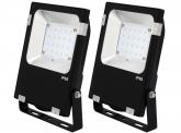 2x AdLuminis SMD LED Fluter PCCooler 20W 2.400 Lumen