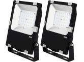 2x AdLuminis SMD LED Fluter PCCooler 30W 3.600 Lumen