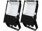 2x Projecteur LED Philips plat 50W 6.500lm PCCooler AdLuminis