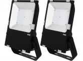 2x Projecteur LED Philips plat 80W 10.400lm PCCooler AdLuminis