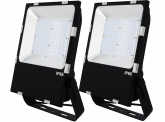 2x AdLuminis SMD LED Fluter PCCooler 100W 13.000 Lumen