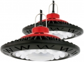 2x AdLuminis LED Hallenstrahler UFO High Bay 50 Watt 3.800 Lumen