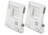 2x AdLuminis SMD LED Fluter 10W 1.100 Lumen