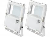 2x AdLuminis SMD LED Fluter 20W 2.200 Lumen